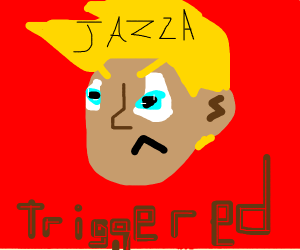 Triggered guy