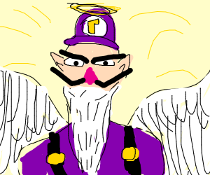 our holy god WAHluigi