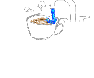WATERED DOWN COFFEE