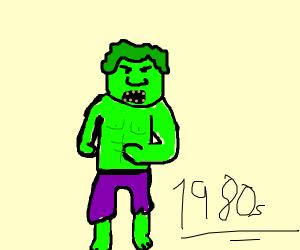 Old School Hulk