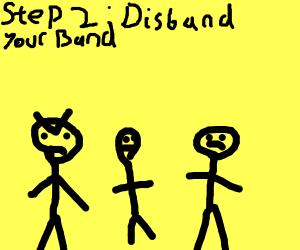Step 1: Create a band