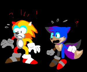 sonic and tails swap colors