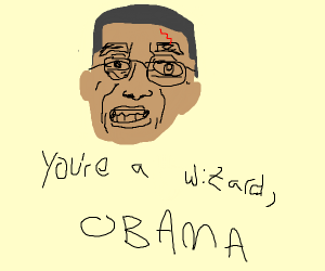 Obama is Harry Potter