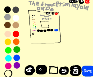 the drawception layout