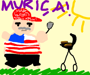 American grilling out