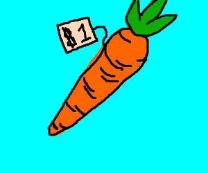 carrot worth one dollar