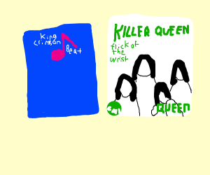 King Crimson and Killer Queen