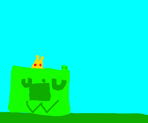 Minecraft uwu slime is king