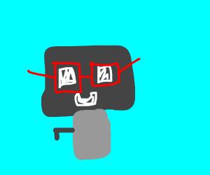 Nerd robot
