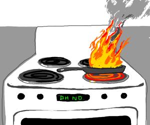 oh no fire