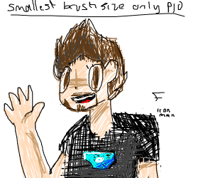 Smallest brush size only P.I.O
