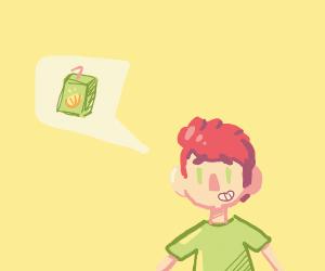 Boy want juice