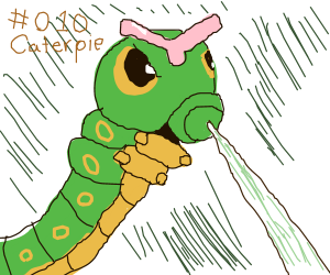 Caterpie used String Shot!