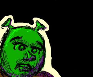 Shrek Missing His Swamp