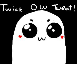 Twick ow tweat ghost
