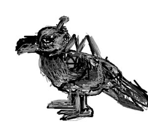 A robot bird