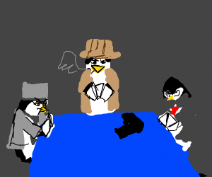 gangster penguins