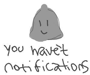 zero notifications (samebro)