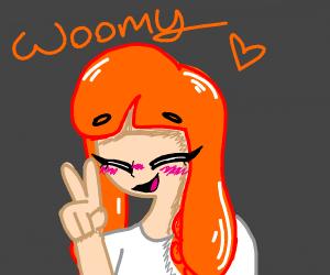 a cute woomy