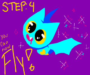 Step 3: Throw up Sparkles