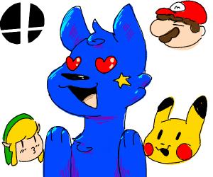 Nintendo Obsessed Furry