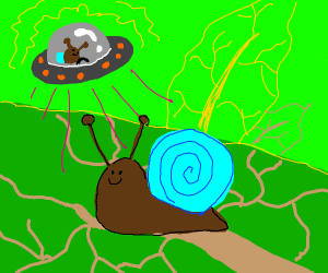 snail is alien