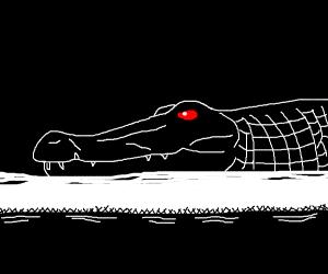 Red Eyed Crocodile