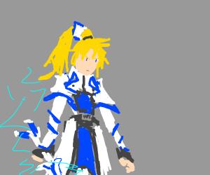 anime trap w/ sword