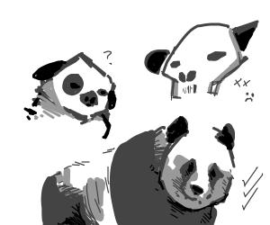 Panda Concept Art