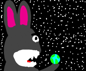 Big Chungus Consumes The Earth Drawception