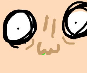 intense eyes and nose (IveSeenYouAlot)