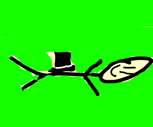Chest wearing a Top Hat
