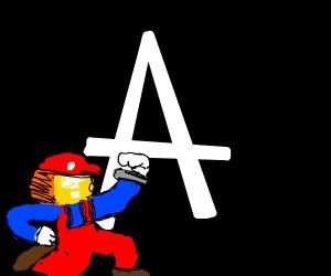Mario's Face Morphs Into Mystery Block
