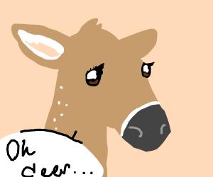 Sad Deer