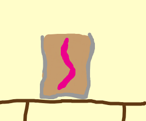 Worm in alcoholic beverage