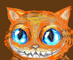 garfield is the cheshire cat