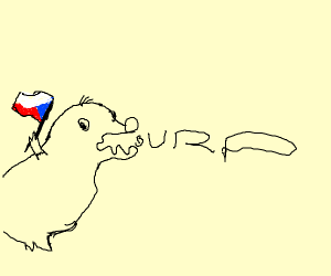 Czechoslovakia Cartoon Mole Burping