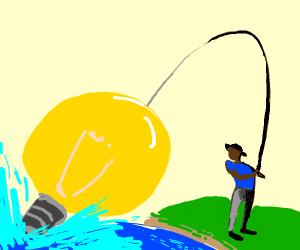 Fishing for a Lightbulb