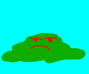 Sad green thing