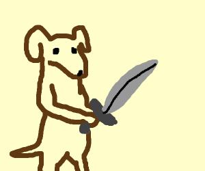 Sword doggo