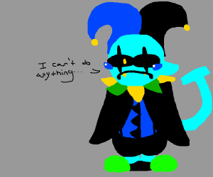 jevil can't do anything