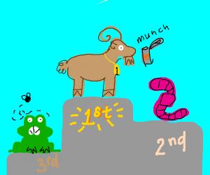 Goat got #1