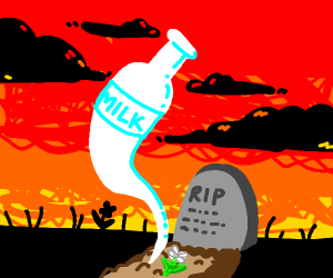 milk ghost raises from his grave