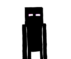 Enderman stares into your soul