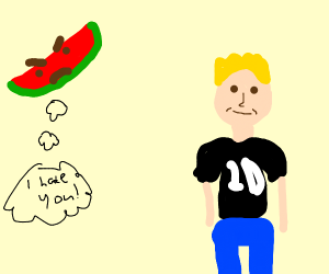 Watermelon hates Nail