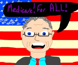 Bernie Sanders declares Medicare for all
