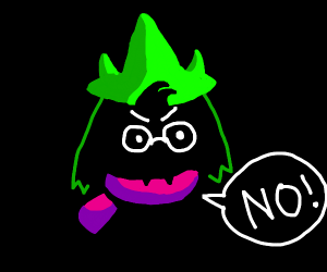 Ralsie says no