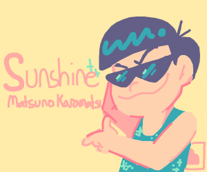 Karamatsu matsuno looking cool