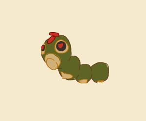 Caterpie Pokémon in love