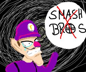 Waluigi isn't in Smash